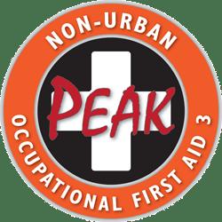 NUOFA3 Non-Urban Occupational First Aid 3 Peak Emergency Training